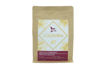 Tad Coffee Single Origin, Colombia Finca El Paraiso Frutos Rojos